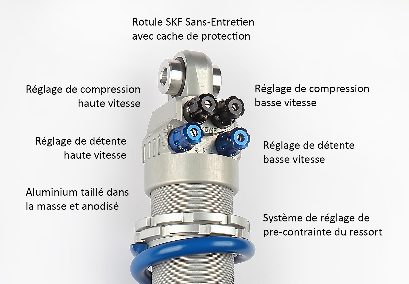 Détails - SportShock 4 EMC SUSPENSIONS