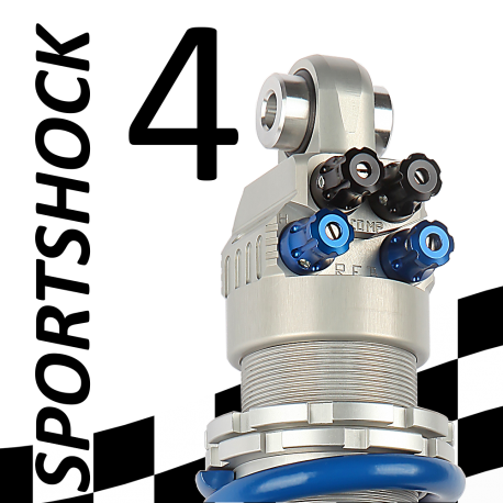 SportShock 4 shock absorber for Ducati - model 821 Hypermotard - year 2013 - 2015 (Competition use)