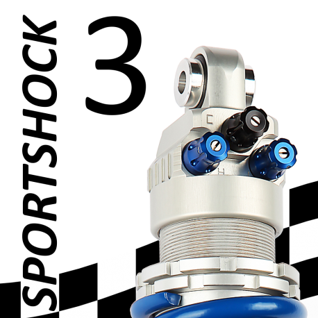 SportShock 3 shock absorber for Ducati - model 900 SL Super Light - year 1992 - 1996 (Racing use)