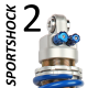 SportShock 2 shock absorber for Kawasaki - model 600 ZX6-R - year 2000 - 2002 (Sport Road use)