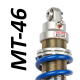MT46 shock absorber for Kawasaki - model 500 KLE - year 1991 - 2006 (Road / Trail use)