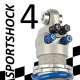 Amortisseur SportShock 4 pour Aprilia - modèle 1000 Tuono R - année 2006 - 2009 (utilisation compétition)