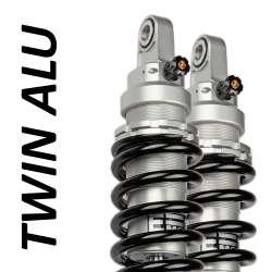Amortisseur Twin Alu (la paire) pour Moto Guzzi - modèle 1400 California Touring ABS - année 2013 - 2015