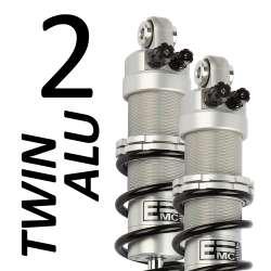 Amortisseur Twin Alu 2 (la paire) pour Triumph - modèle 900 Street Twin - année 2016 - 2017