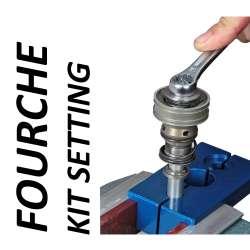 Fourche - Kit setting pour Yamaha - modèle 1000 YZF R1 - année 2015 - 2017