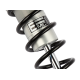 Amortisseur Twin Alu 2 (la paire) pour Harley Davidson - modèle 1690 Tri Glide Ultra FLHTCUTG - année 2014 - 2016