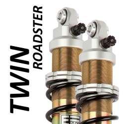 Amortisseur Twin Roadster (la paire) pour Triumph - modèle 900 Scrambler - année 2006 - 2016