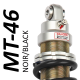 MT46 BLACK shock absorber for Kawasaki - model 500 KLE - years 1991 - 2006 ( road / trail use)