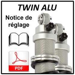 Notice de réglage Twin Alu