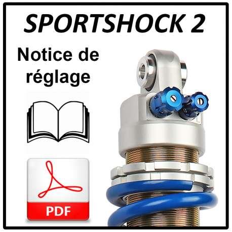 Notice de réglage Sportshock 2