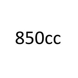 de 850 cc à 853 cc