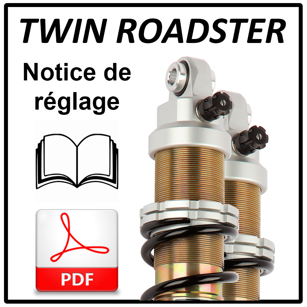 Adjustment and setting information for EMC shock absorber TWIN ROADSTER