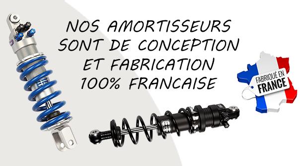 Nos produits sont conçus et fabriqués à 100% en FRANCE