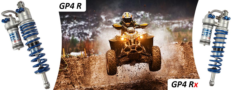 Amortisseur EMC pour Sprint car, Kart cross et Autocross